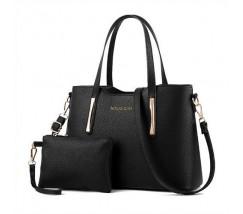 Сумка жіноча з гаманцем чорна