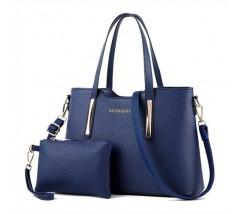 Сумка жіноча з гаманцем синя