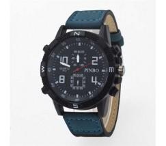 Чоловічий спортивний годинник Pinbo синій