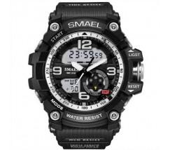 Спортивний чоловічий наручний годинник чорний