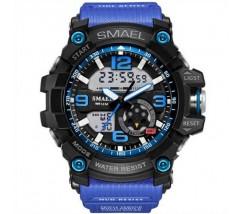 Спортивний чоловічий наручний годинник синій