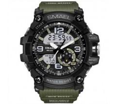 Спортивний чоловічий наручний годинник хакі