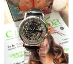 Чоловічий наручний годинник Skelton з відкритим механізмом