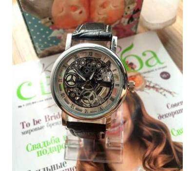 Мужские наручные часы Skelton с открытым механизмом