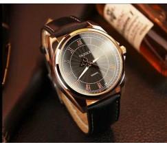 Чоловічий наручний годинник Yazole чорний