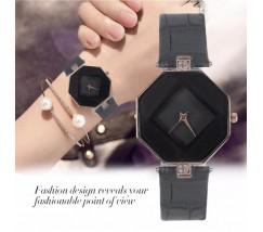 Часы женские наручные черные