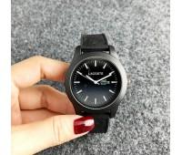 Жіночий наручний годинник Lacoste чорний
