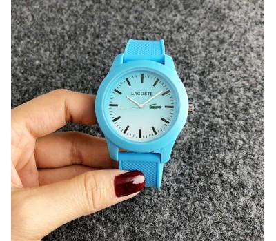 Женские наручные часы Lacoste голубые