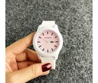 Жіночий наручний годинник Lacoste білий