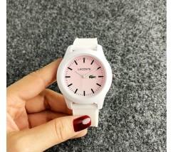 Женские наручные часы Lacoste белые
