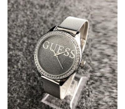 Женские наручные часы Guess копия темно-серые