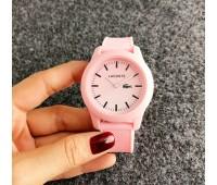 Жіночий наручний годинник Lacoste рожевий