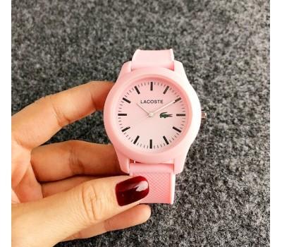 Женские наручные часы Lacoste розовые