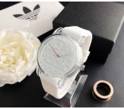 Модные женские часы Adidas белые