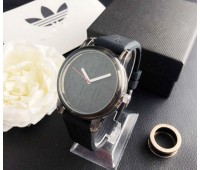 Модний жіночий годинник Adidas чорний