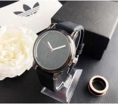 Модные женские часы Adidas черные