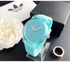 Модные женские часы Adidas мятные