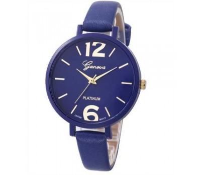 Женские наручные часы Женева синего цвета