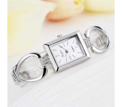 Женские наручные часы браслет Jupai серебро