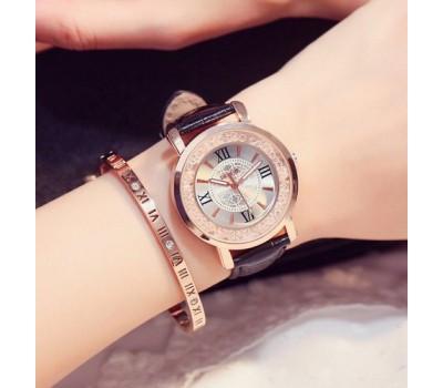 Красивые женские часы черные