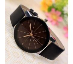 Стильные женские часы черные