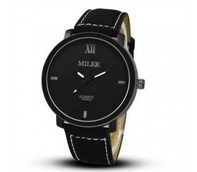 Жіночий наручний годинник Miler чорний