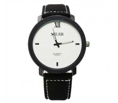 Женские наручные часы Miler бело-черные