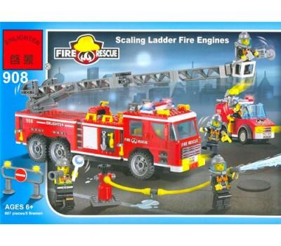 Конструктор Brick 908 Пожарная серия