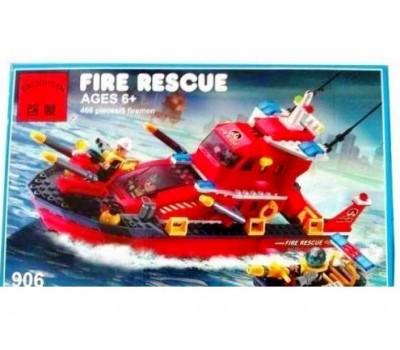 Конструктор Brick 906 Пожарная серия