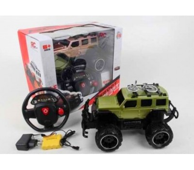 Машина на р/у 666-639FA1:16 зеленая
