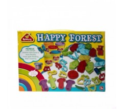 Тесто для лепки животных Happy Forest