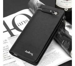 Мужской портмоне клатч Baellery Italia черный