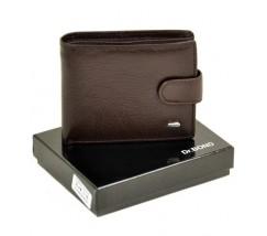 Чоловічий гаманець шкіряний коричневий