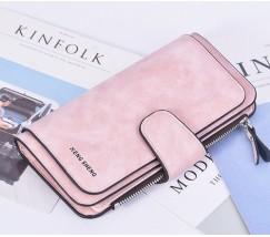 Женский кошелек клатч EngSheng Forever светло-розовый