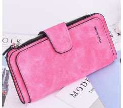 Женский кошелек клатч EngSheng Forever ярко-розовый