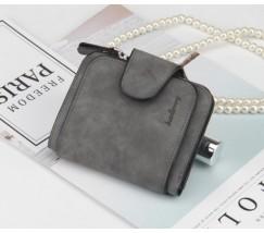 Жіночий маленький гаманець Baellery Forever темно-сірий