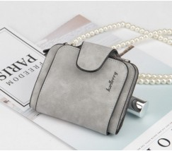 Жіночий маленький гаманець Baellery Forever світло-сірий