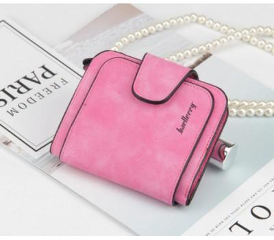Женский маленький кошелек Baellery Forever ярко-розовый