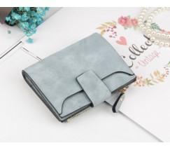 Жіночий маленький гаманець блакитний