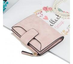 Жіночий маленький гаманець світло-рожевий
