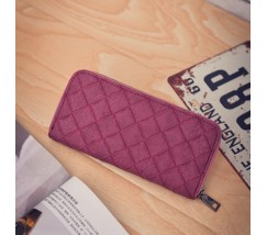 Женский кошелек портмоне бордовый