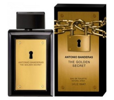 Antonio Banderas The Golden Secret EDT (100 мл)