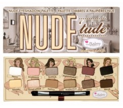 Палетка теней The Balm Story Nude Tude 12 цветов
