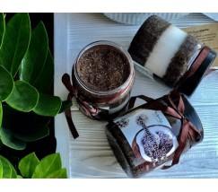 Скраб для тела и лица Шоколад