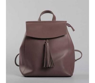 Современный рюкзак-сумка (трансформер) коричневый