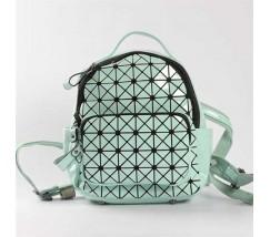 Яскравий рюкзак міні м'ятний