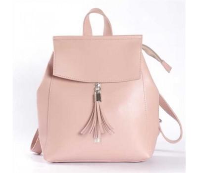 Современный рюкзак-сумка (трансформер) розовый