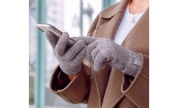 Теплые сенсорные перчатки для смартфонов