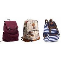 Рюкзаки с ткани