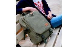 Мужской тканевой рюкзак для ноутбука, спорта, похода, на каждый день.